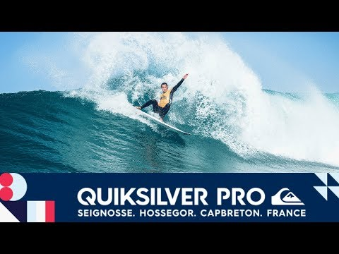 Smith vs. Igarashi vs. Lacomare - Round One, Heat 6 - Quiksilver Pro France 2017