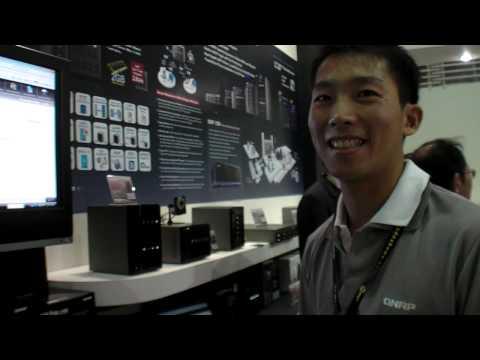 Qnap at Computex 2009 in Taipei