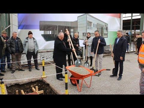 11 03 2019 U Arilju Polozen Kamen Temeljac Za Fabriku Za Preradu