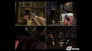 GoldenEye: Rogue Agent Xbox Gameplay - Hall of Mirrors