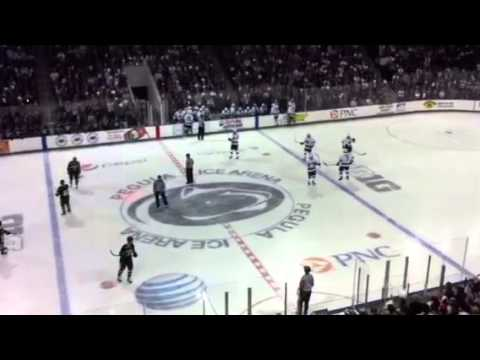 First-ever goal in Pegula Ice Arena