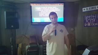 I Told You So - Randy Travis - karaoke - Marc