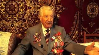 Ветеран Великой Отечественной войны Дубовой Петр