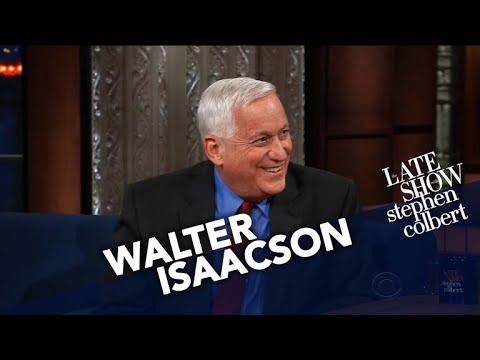 Walter Isaacson Compares Leonardo Da Vinci To Modern Geniuses