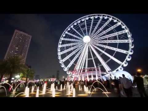 Sharjah Time Lapse Video - Beautiful Time Lapse video of Sharjah City - UAE