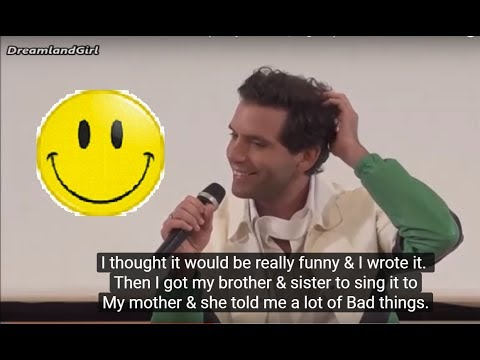 MIKA Giffoni 2017 - INNOCENT «LOLLIPOP» SONG (Funny moment | Eng sub)