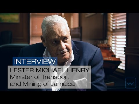 Michael Henry, Transport Minister of Jamaica - World Investm
