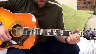Whitesnake-Here I go Again-Acoustic Guitar Lesson.