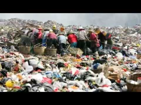 World's garbage ends up in China