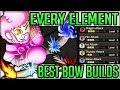 AVATAR BOWMAN - Best Bow Build - Every Element Fun - Monster Hunter World! (Highest Damage Possible)