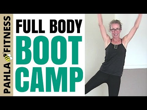 EMOM Full Body Fat Burning BOOT CAMP | 25 Minute Cardio, Strength + Standing Abs Workout