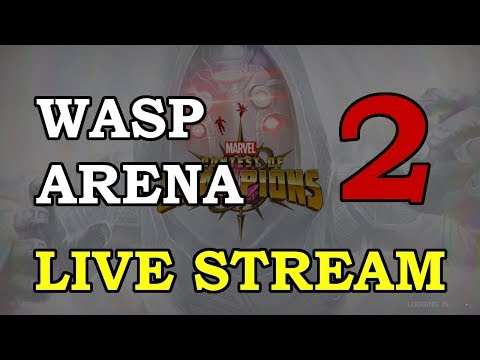 Wasp Arena - Part 2 | Marvel Contest of Champions Live Stream