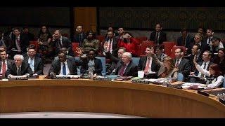 شاهد كيف انسحب أعضاء مجلس الأمن عند كلمة الجعفري.. وهجوم بريطاني على الفيتو الروسي!