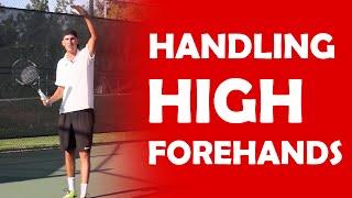 High Forehands   HANDLING HIGH BALLS