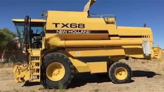 New-Holland-TX-68-Prezentacja-jak-dziala-kombajn-zniwa-2018