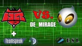 HR +TEAMSPEAK(с маркеловым) VS. DIGNITAS (DE_MIRAGE)