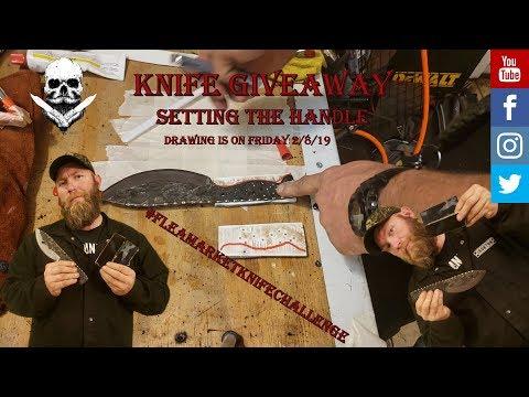 Knife Giveaway Video 9...Handle Epoxy
