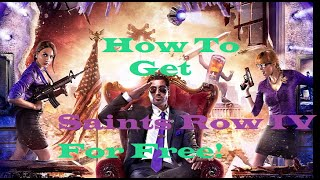 How To Get Saints Row IV With All DLC