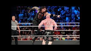 FULL MATCH - Lesnar | vs Reigns | vs Joe vs Strowman - Universal Title Fatal 4 - Way- Summerslam