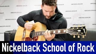 """Nickelbacks ryan peake shows you, how to easily play """"photograph"""". you do not even have be able read notes. just watch his fingers.100% rock - nonstop!htt..."""