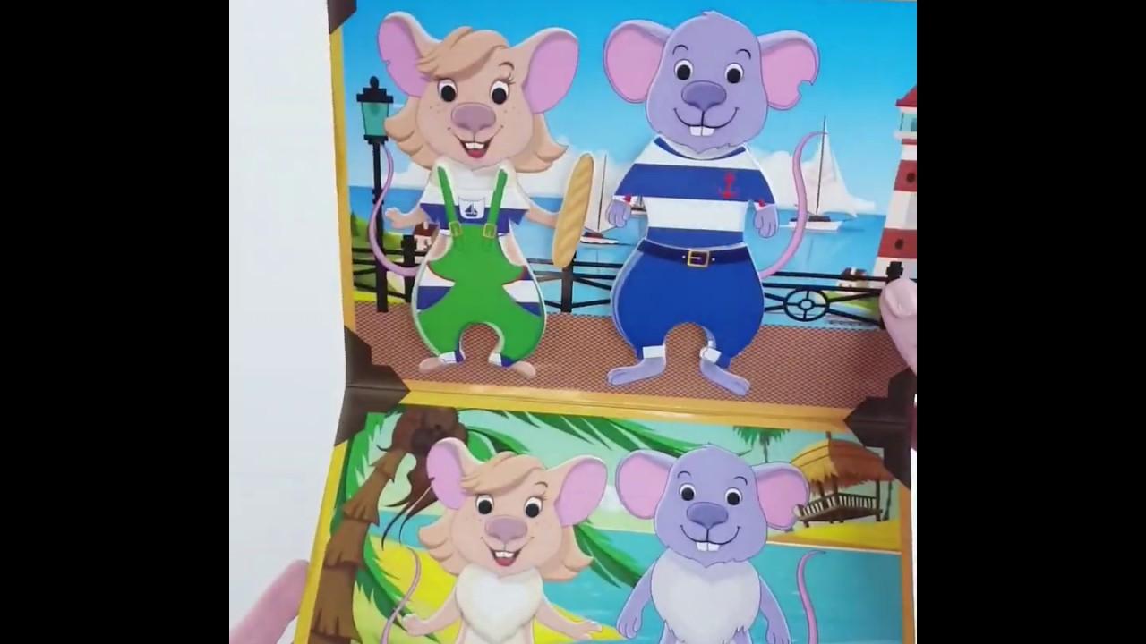 Vladi Toys VT4206-33 Набор с мягкими наклейками Мышки путешественники