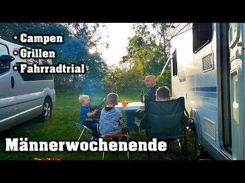 männerwochenende,-wohnwagen-camping,-fahrradtrial-|-vlog-|-abo-spezial-|-hobbyfamilie