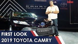 2019 Toyota Camry First Look | NDTV carandbike
