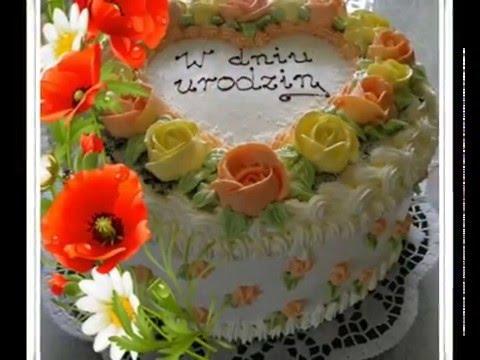 Znalezione obrazy dla zapytania zyczenia urodzinowe torty
