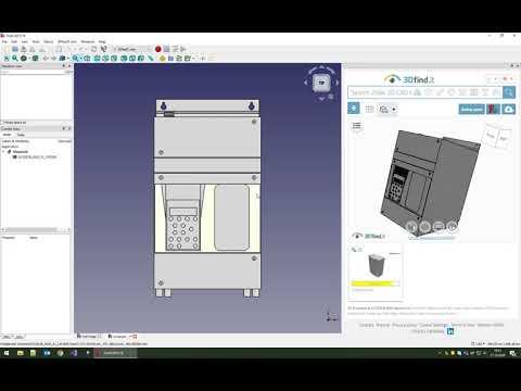 FreeCAD - Plugin for 3D CAD models - powered by CADENAS
