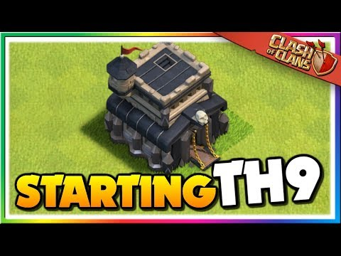 NEW SERIES! Starting Town Hall 9 - Upgrade Guide | TH9 Let's Play Clash Of Clans