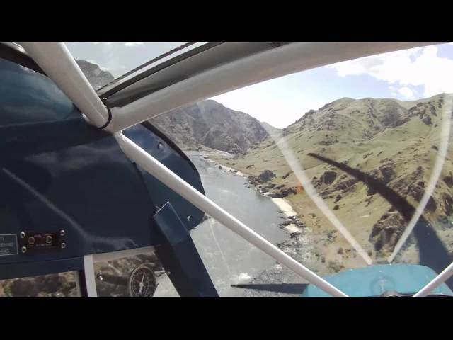 Salmon Bar ID Landing in Super Cub