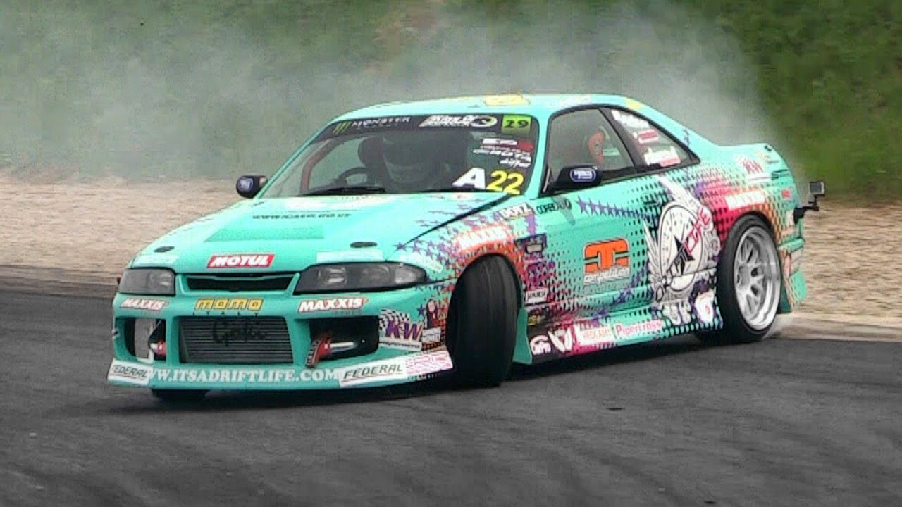 Nissan Skyline Drifting King Of Europe Round