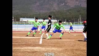 강원FC 2차 전지훈련 연습경기 골모음