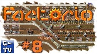 Factorio #8 Alpha and beta gameplay of the industry and factory simulator and manager HD
