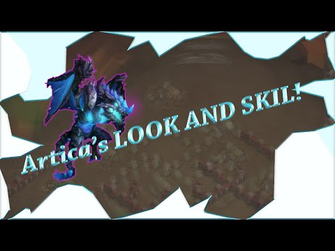 Castle Clash - Artica's Look And Skill! - Artica Vs Moltanica Comparison Sneek Peak