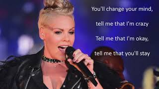 My Attic with Perfect Lyrics by Pink ft Julia Michael