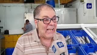 سمك الفسيخ يزين موائد النابلسيين في صبيحة العيد - (5-6-2019)