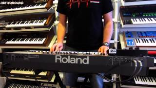 "Roland Juno-106 & Boss DR-55 ""Cold Morning"""
