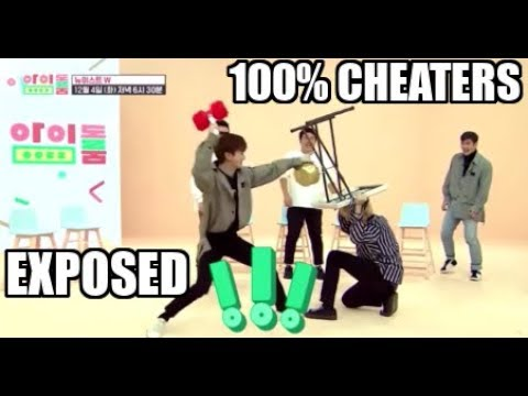 NU'EST Cheating on Variety Shows