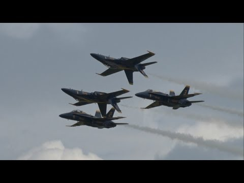 2017 New York Air Show - US Navy Blue Angels