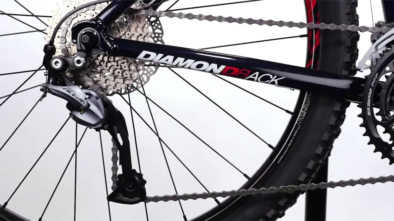 808afc42790 2016 Diamondback Overdrive Hardtail Mountain Bikes - YouTube