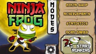 Ninja Frog Run - Android Gameplay HD