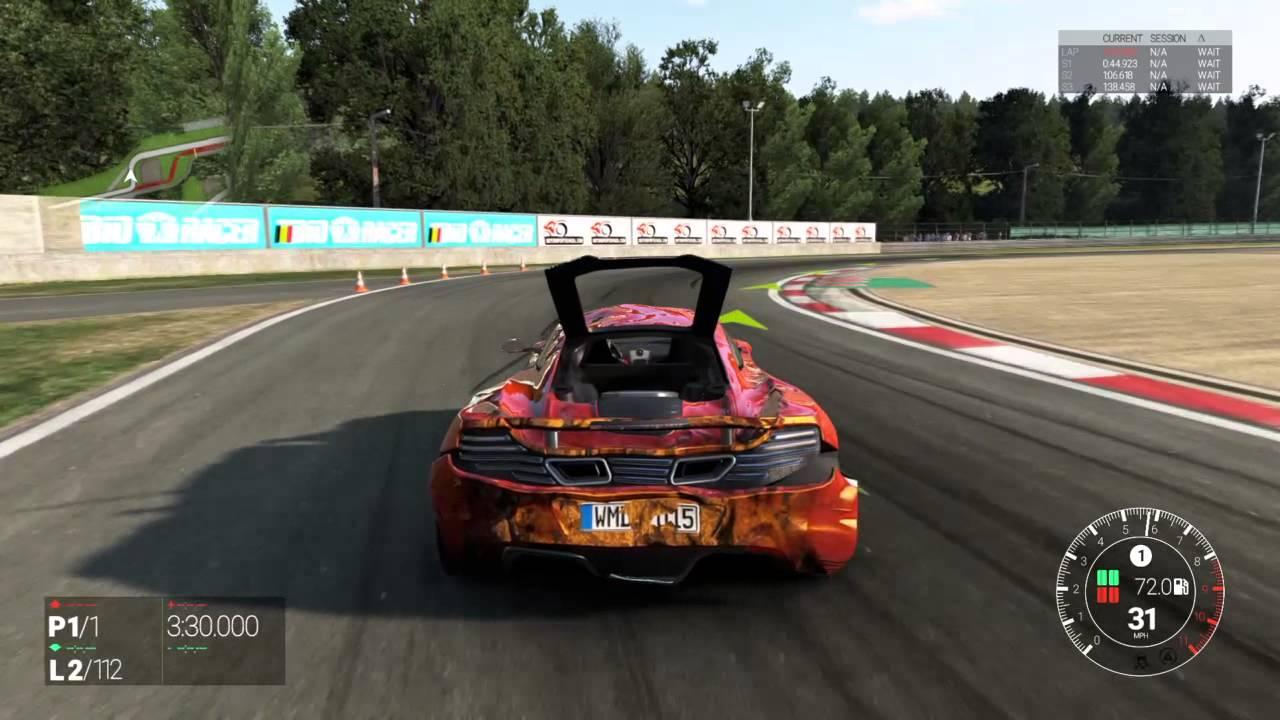 Project CARS PS4 Crashing Physics