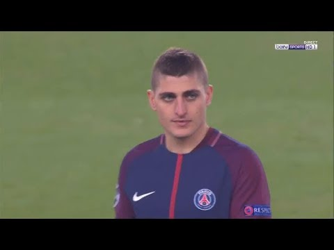 Marco Verratti vs Real Madrid (Home) 2017-18