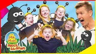 The Ants Go Marching Sing-a-long | Live Nursery Rhymes and Kids Songs | The Mik Maks