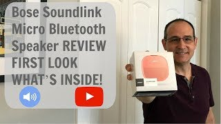 Bose Soundlink Micro Bluetooth Speaker REVIEW FIRST LOOK WHAT'S INSIDE!