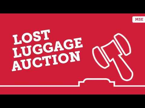 Lost Luggage Auctions: Grab bargain unclaimed suitcases