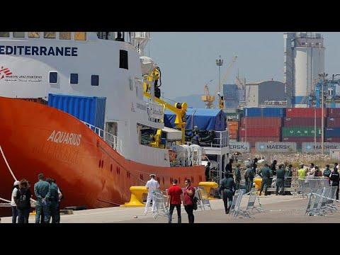 مالطا -تتنازل- وتستقبل سفينة إنقاذ المهاجرين أكواريوس  - 20:22-2018 / 8 / 14