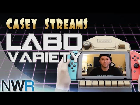 Casey and Kait build LABO Variety Kit!