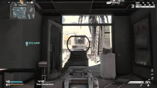 Call of Duty Ghosts PC Groundwar Team Deathmatch on Octane Gameplay HD720p